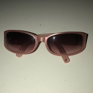 Pink coach sunglasses